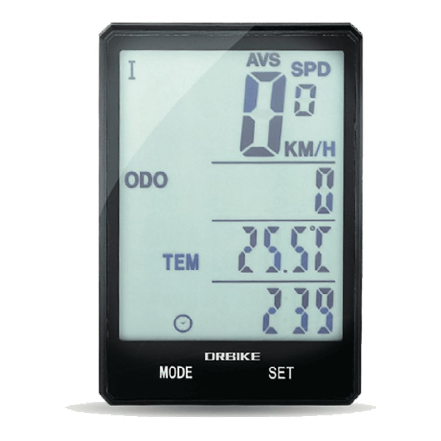 2.8 Inch Large Screen Bike Power Supply Of CR2032