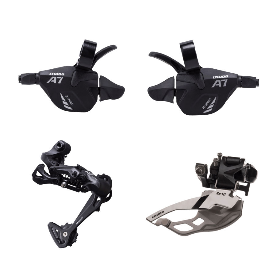 L-TWOO MTB A7 2x10 20 Speed Derailleur Groupset Bike Rear Derailleur Bicycle Shift Lever