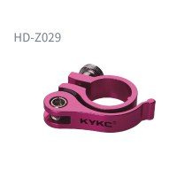 KYKC Alloy+T6/CNC Bike Quick Release Dia 25.4/28.6/31.8/34.9mm Bicycle Parts Seat Post Clamp