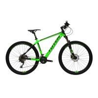 """OEM 27.5"""" MTB Bike Green Alloy Frame Mountain Bike 11-36T Freewheel"""