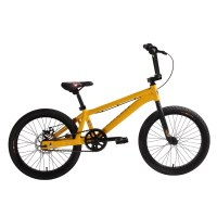 "OEM 20"" BMX Bike Yellow Alloy Frame BMX Bicycle Single-Alloy 36H Wheelset"