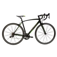 OEM 700C Road Bike Black With Green Alloy Frame Road Bicycle 11-28T Freewheel