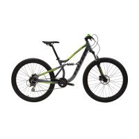 """OEM 29"""" MTB Bicycle Grey With Green Alloy Frame Mountain Bike Super Soft Forming Saddle"""