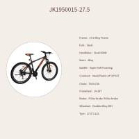 "OEM 27.5"" MTB Bike Black Alloy Frame Mountain Bicycle 14-28T Freewheel"