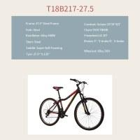 "OEM 27.5"" MTB Bike Green Steel Frame MTB Bicycle 14-28T Freewheel"