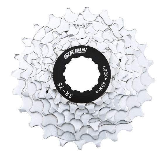 7 Speed Index Cassette Sprockets 11-24T Cassette Sprocket  For Road Bike