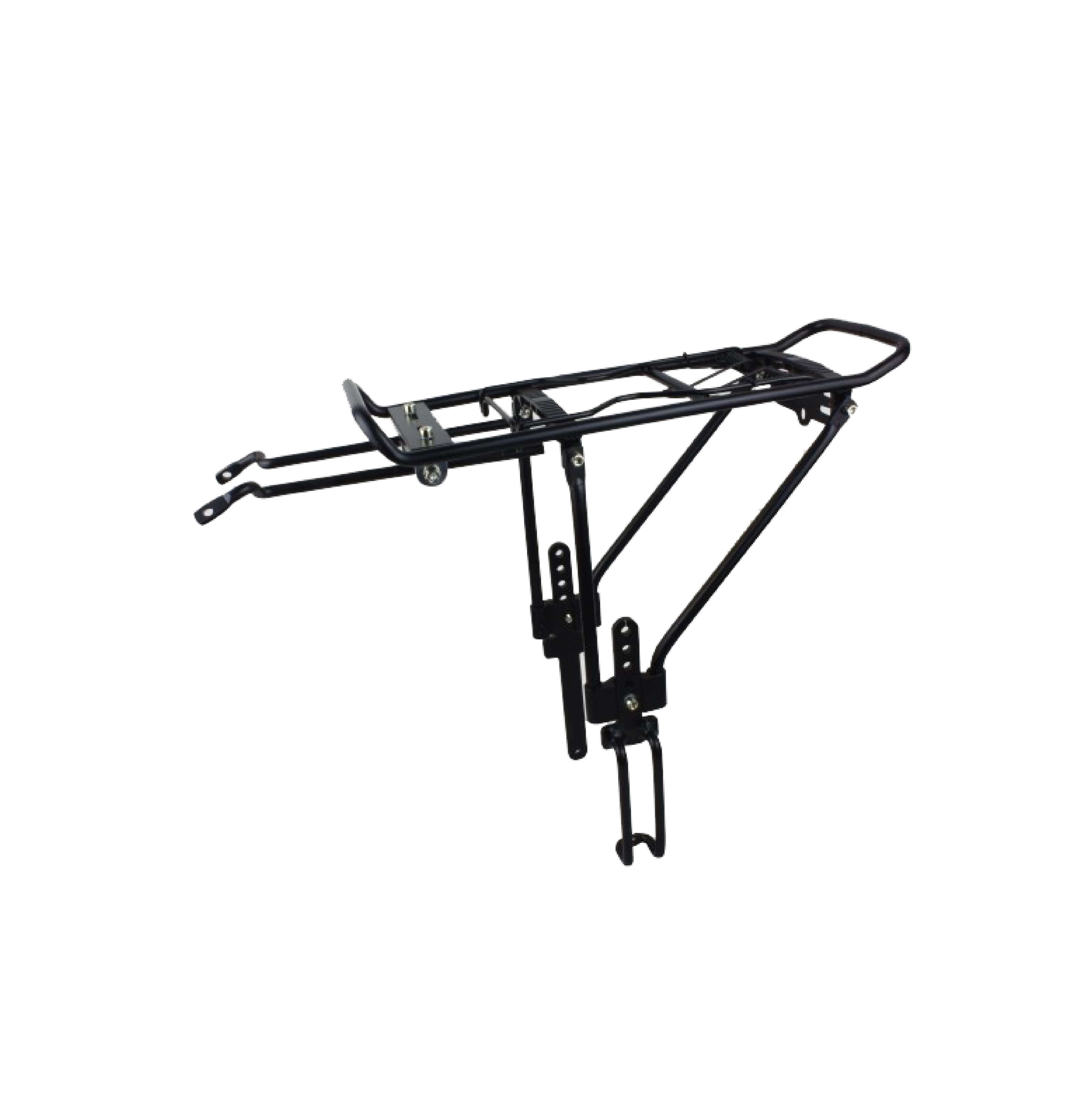 """Alloy Rear Carrier For 26""""/28/700C Bicycle Tig Welded Carrier Hollow Tube"""