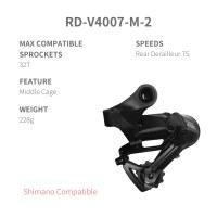 L-TWOO MTB A2 3x7 21 Speed Derailleur Groupset Bike Rear Derailleur Bicycle Shift Lever
