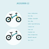 "OEM 12""Alloy Frame Kids Balance Bike Red/Blue/Light Blue Children Bicycle For 2-4 Years Preschool Children"