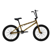 "OEM 20"" BMX Bike Black/Yellow  Steel Frame BMX Bicycle 9T Freewheel"