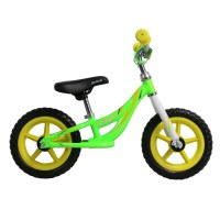 OEM 12 Inch Aluminum Alloy Frame Kids Balance Bike Plastic Nylon Wheelset For 2 To 4 Years Preschool Children
