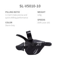 L-TWOO MTB A3 3x8 24S Right Shift Lever 8 Speed  Visaul Gear Indicator and Shimano Compatible