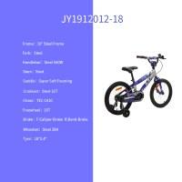 "OEM Purple 18"" Steel Frame Kids Bike Full Chain Guard Kids Bicycle For 5-9 Years Old Boy"