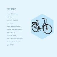 "OEM 28"" E-Bike Alloy Frame Blue Electric Bicycle 12-32T Freewheel"