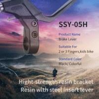 2/3 Finger Brake Lever With Steel Insert Lever Suitable For Kids Bike
