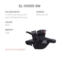L-TWOO FB/FRB F3 2x8 16S Right Shift Lever 8 Speed  Visaul Gear Indicator Shimano or SRAM Compatible option