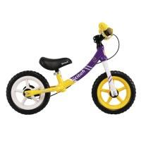 OEM Discover 12 Inch Aluminum Alloy Frame Kids Balance Bike Plastic Nylon Wheelset For 2 To 4 Years Preschool Children