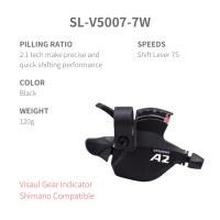 L-TWOO MTB A2 3x7 21S Right Shift Lever 3S Visaul Gear Indicator