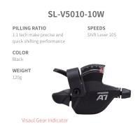 L-TWOO MTB A7 3x10 30S Right Shift Lever 10 Speed Visaul Gear Indicator