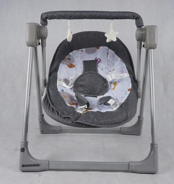 Aluminum alloy electric baby rocking chair