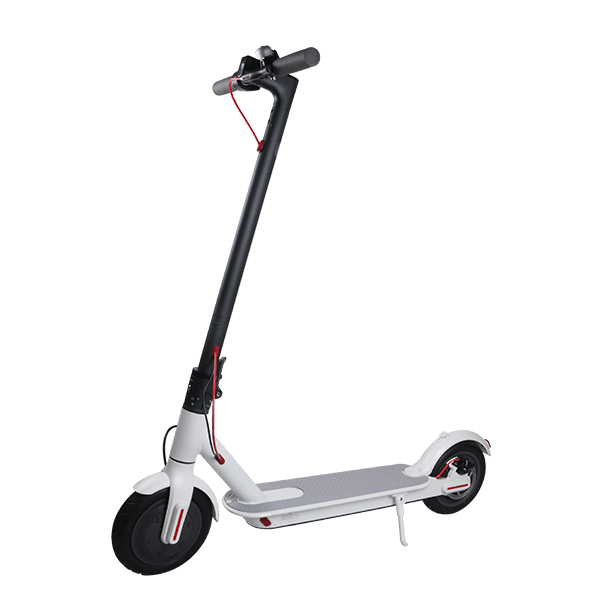 OEM 36V 250W About 25km/h Alloy+ABS+PC Black/White 22km (Per full charge)  Electric Scooter(HR-15)