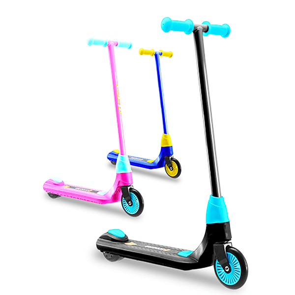OEM 24V 60W About 6km/h Alloy+ABS+PC Black/Pink 9.5km (Per full charge) Kids Electric Scooter(M2-X)