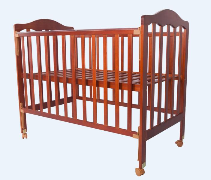 Wooden baby bed          Unfold Size: 151*66*92cm