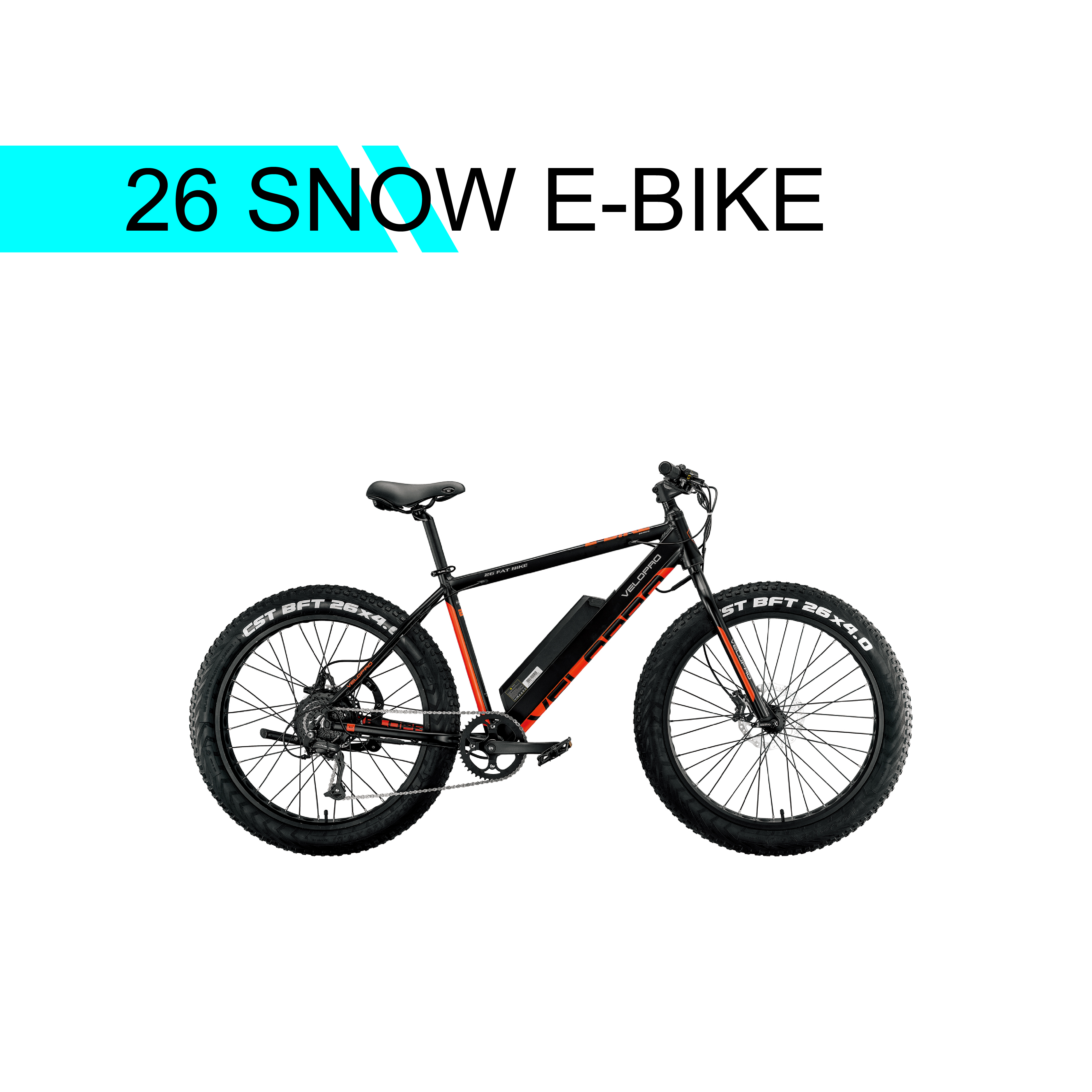 26 SNOW  E-BIKE