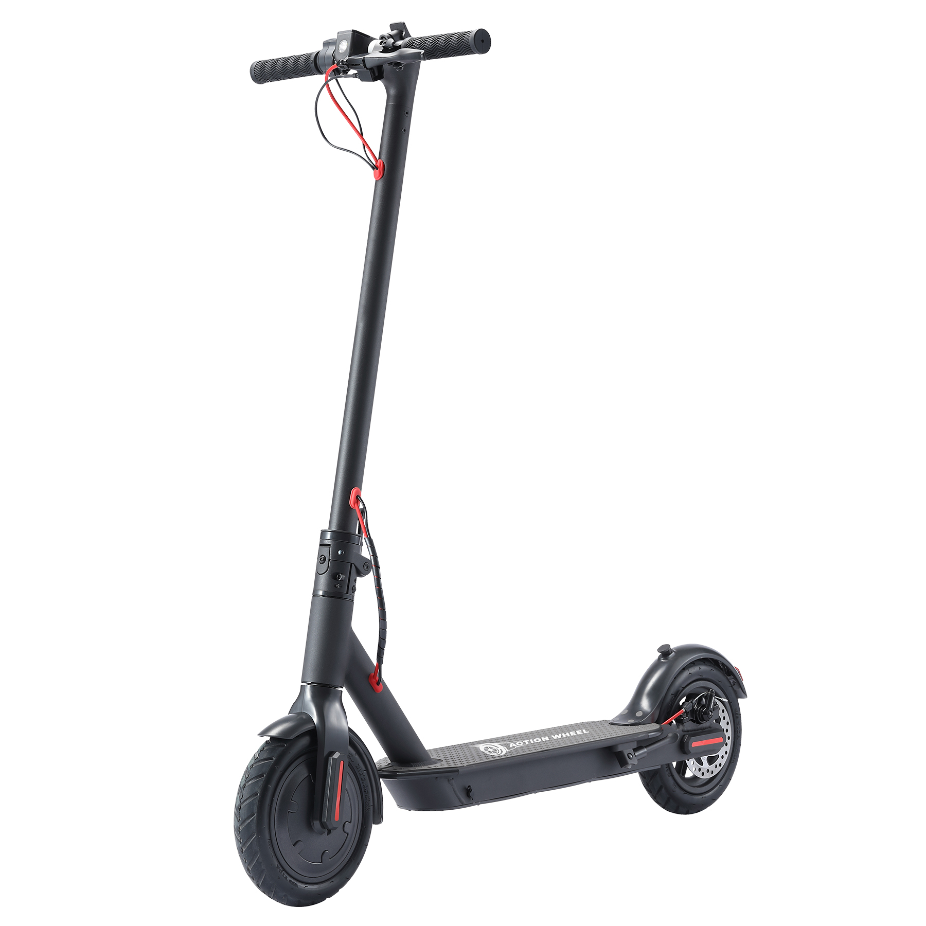 OEM 36V 250W About 25km/h Alloy+ABS+PC Black  Electric Scooter(EH600)