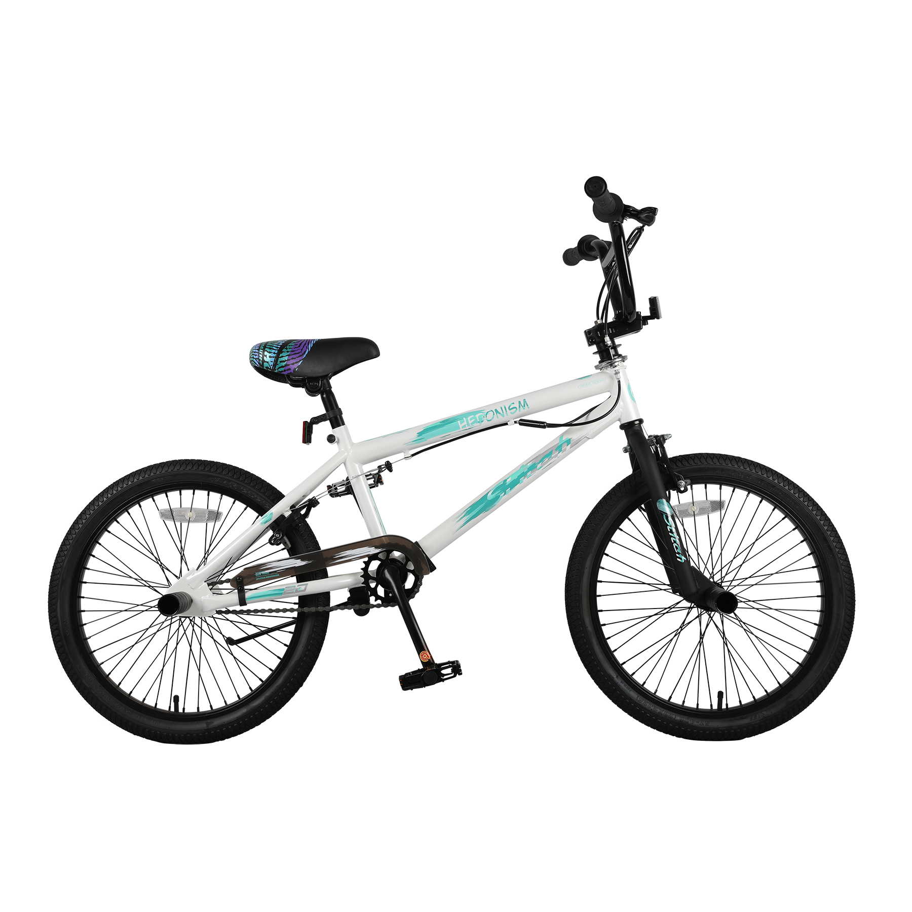 "20"" HI-TEN BMX Frame Junior BMX Bike"