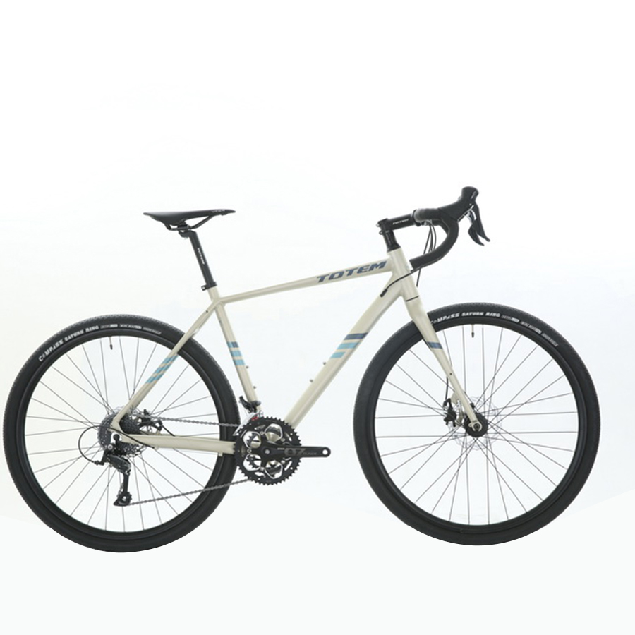 High Quality TOTEM 700C Alloy Frame Road Bike White/Yellow