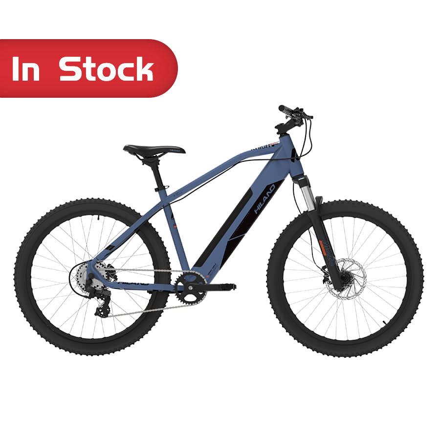 "BIKE Supplier OEM NEW High quality 27.5"" HILAND ALLOY MTB E-bike Eletric Bicycle 500W"