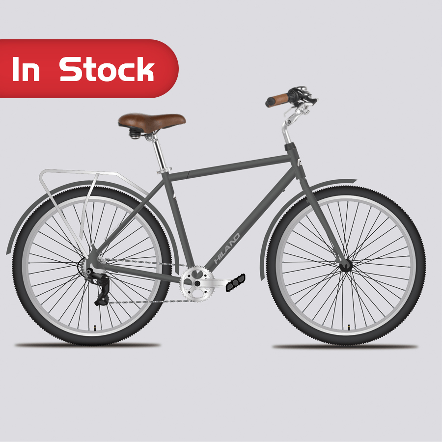 Chinese bike manufacturer 2020 NEW High quality 700C HILAND Alloy Frame City Bicycle