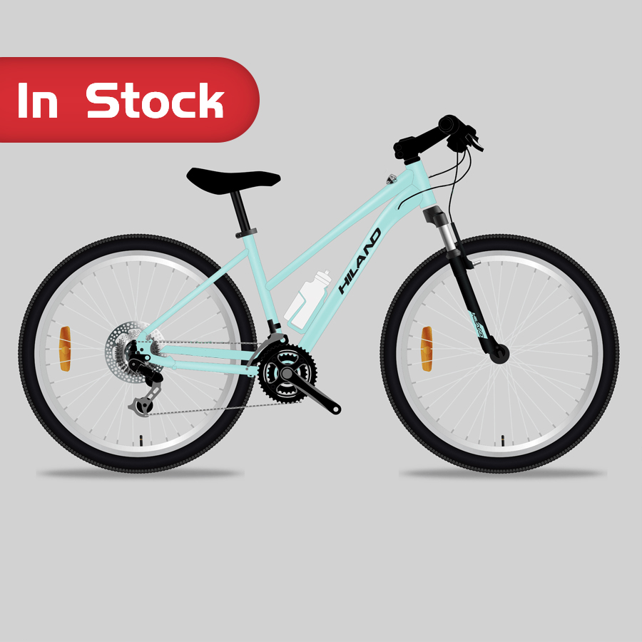 Chinese bike manufacturer 2020 NEW High quality 700C HILAND WOMAN Alloy Frame City Bicycle