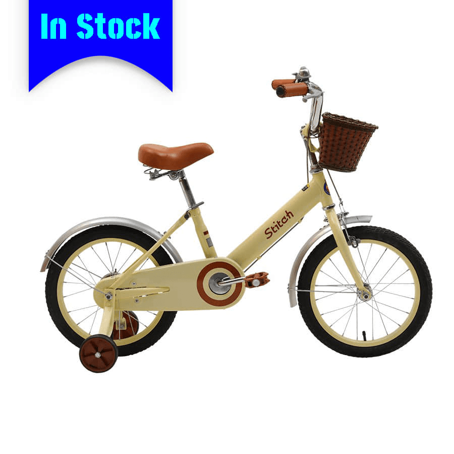 "OEM 16"" Steel Frame Kids Bike Full Chain Guard Children Bicycle With Training Wheels For 4-7 Years Preschool Girl"